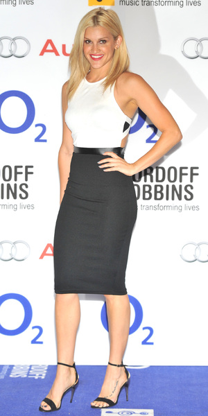 Ashley Roberts Nordoff Robbins O2 Silver Clef Awards held at the London Hilton Park Lane - Arrivals