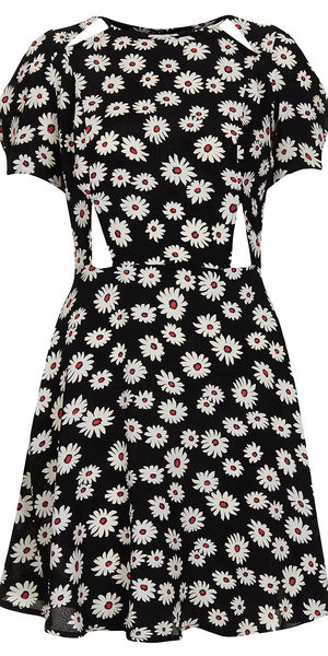 Topshop Daisy print dress as worn by Miranda Kerr