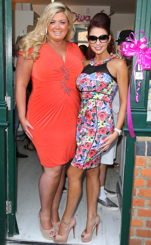Gemma Collins opens new boutique in Brentwood, Essex, July 6 2013