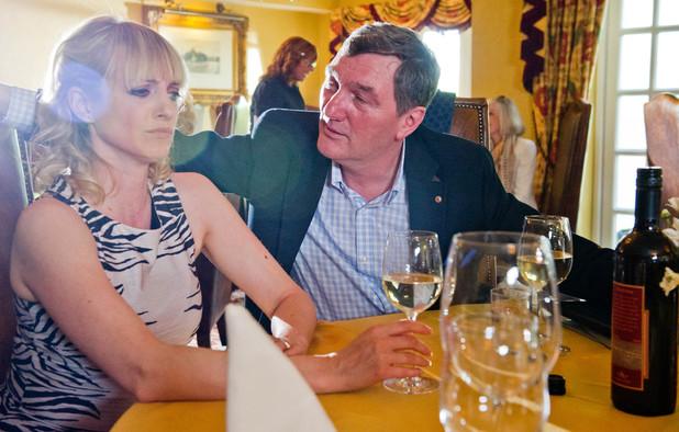Emmerdale, Nicola has lunch with Steve, Mon 8 Jul