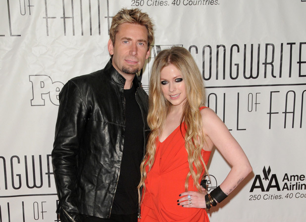 44th Annual Songwriters Hall of Fame- Arrivals Chad Kroeger, Avril Lavigne Credit :Ivan Nikolov/WENN.com Special Instructions : Date Created :06/13/2013 Location :New York City, United States