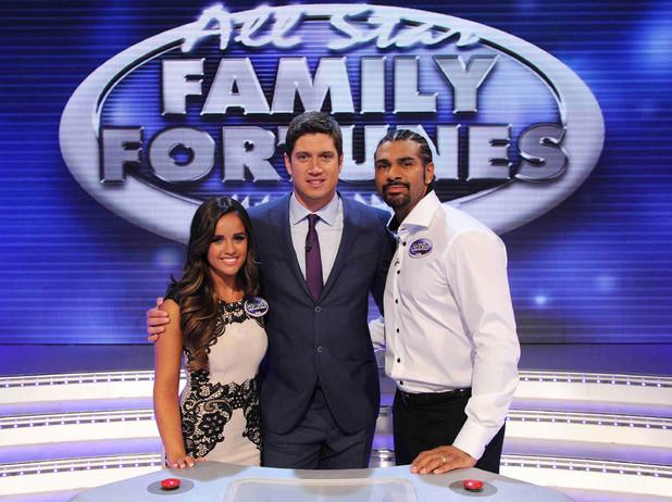 All Star Family Fortunes, Vernon Kay, David Haye, Georgie May Foote, Sat 6 Jul