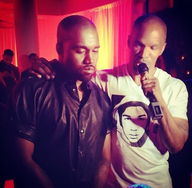 Kanye West and Jamie Foxx - BET After party - 30 June 2013