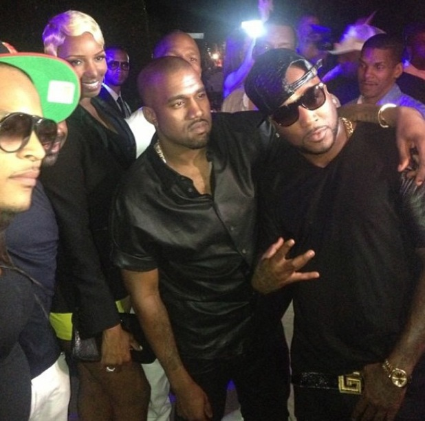 Kany West, T.I., Young Jeezy - BET After party - 30 June 2013