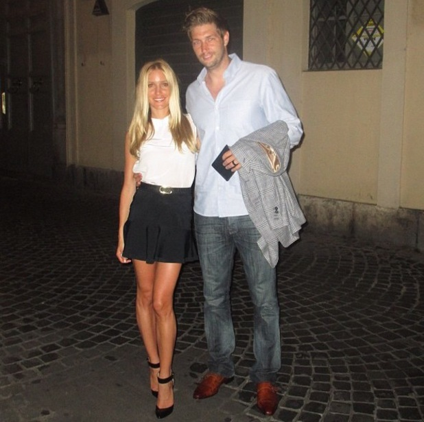 Kristin Cavallari and husband Jay Culter on their honeymoon in Italy - 1 July 2013