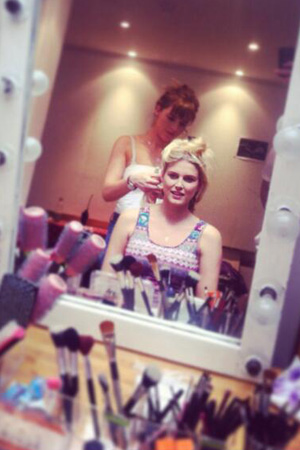 Made In Chelsea's Ashley James preparing to film small role in Taking Stock