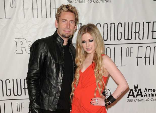 44th Annual Songwriters Hall of Fame- Arrivals Chad Kroeger, Avril Lavigne Credit :	Ivan Nikolov/WENN.com Special Instructions : Date Created :	06/13/2013 Location :	New York City, United States