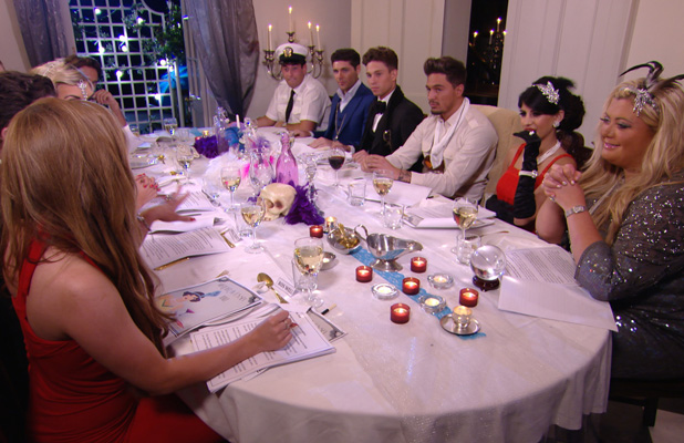 TOWIE preview - cast dinner, Gemma Collins, James' Arg' Argent, Mario Falcone, Joey Essex, Tom Pearce (7 July)