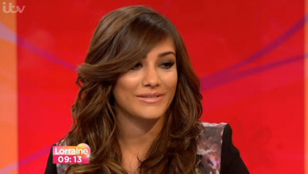 Frankie Sandford on Lorraine, 1 July 2013