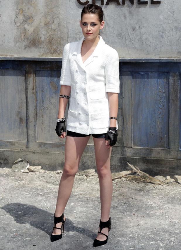 Kristen Stewart, Paris Fashion Week Haute Couture Fall/Winter 2014 - Chanel, 2 July 2013
