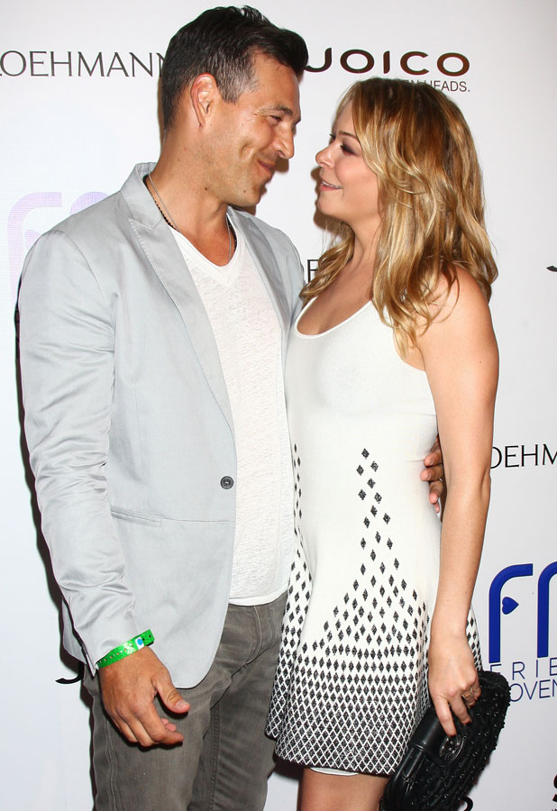 LeAnn Rimes and Eddie Cibrian at the Friend Movement benefit, LA, 1 July 2013