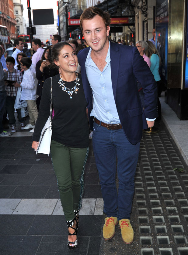 Louise Thompson and Francis Boulle at the Apollo Theatre, 1 July 2013