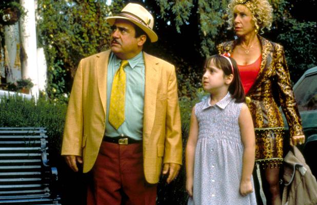 Matilda, Danny Devito, Mara Wilson, Rhea Perlman 1996
