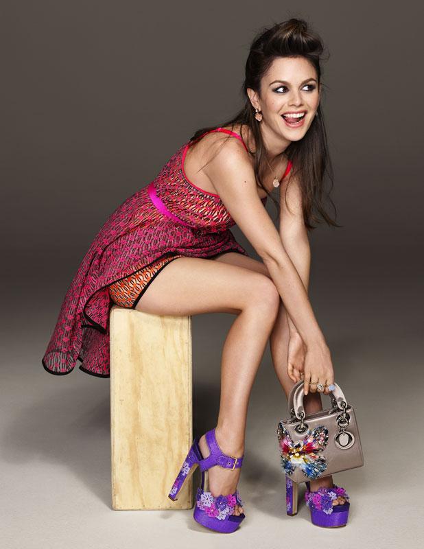 Rachel Bilson Cosmopolitan August issue 2013