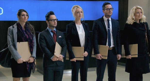 The Apprentice final five face a Alan Sugar in the boardroom - 10 July 2013 episode