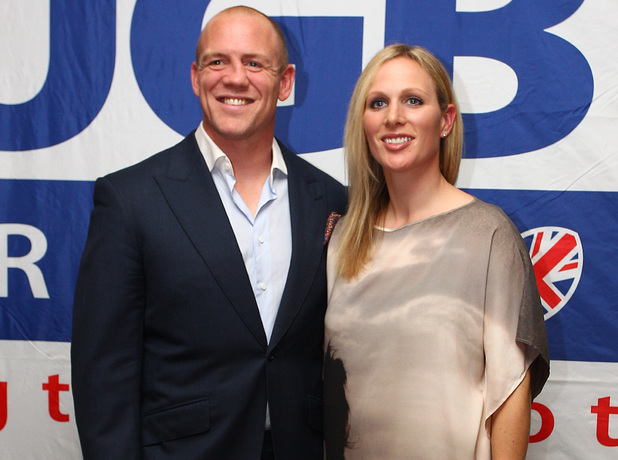 The Mike Tindall Charity Golf Classic at Mannings Heath Golf Club- Reception - Mike Tindall and Zara Phillips - 20 May 2013