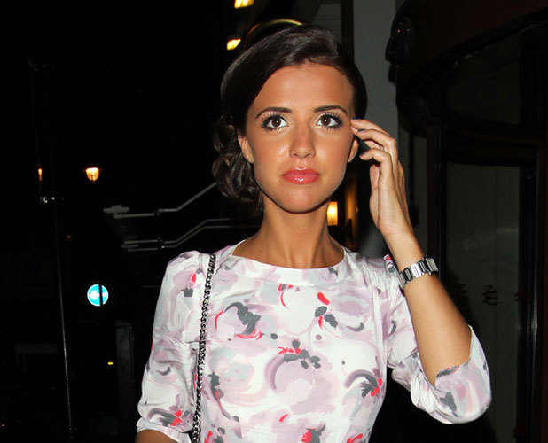 Lucy Mecklenburgh at Easilocks Party, 9 July 2013