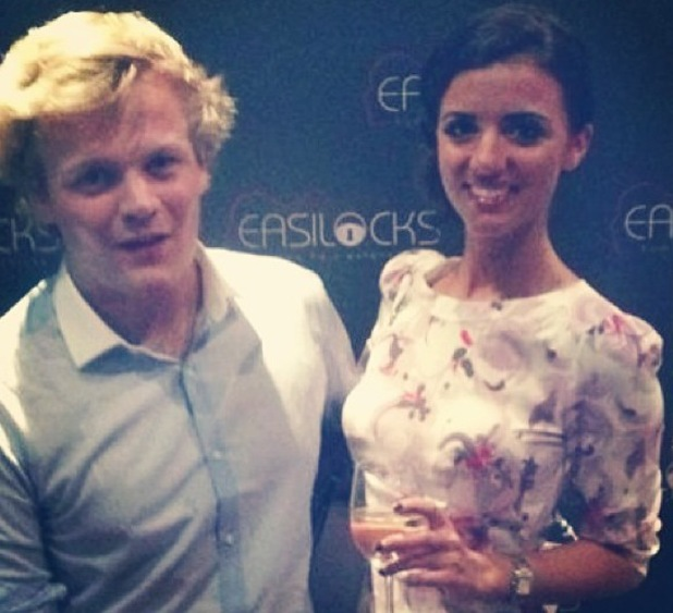 Harry Maxwell and Lucy Mecklenburgh - 12 July 2013
