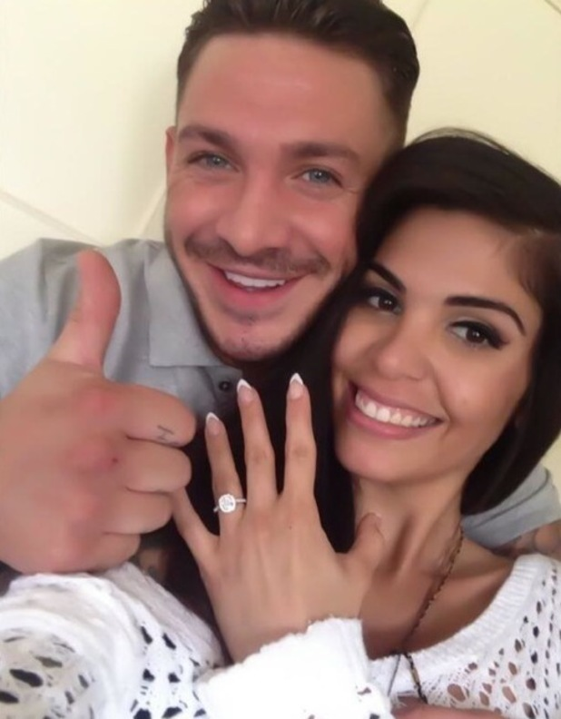 Kirk Norcross and girlfriend Cami Li are engaged, 12 July 2013