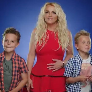 Britney Spears Ooh La La video still