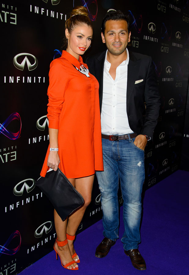 Infiniti Gate Experience - party held at the London Film Museum Covent Garden, Chloe Sims and Joe Fournier, 11 July 2013