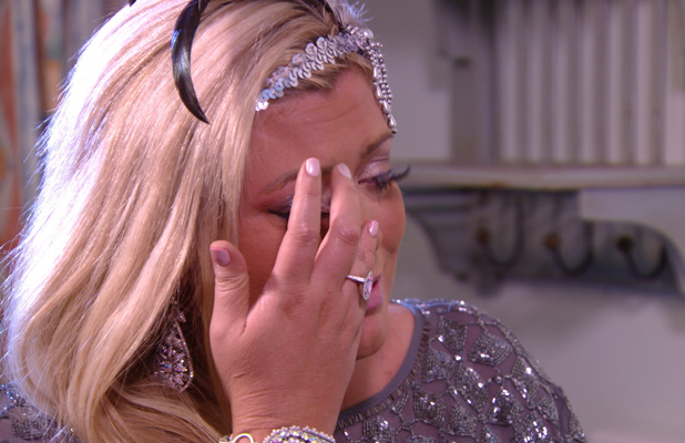 TOWIE's Gemma Collins crying (7 July)