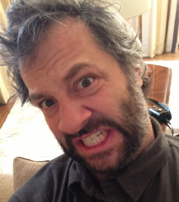Judd Apatow responds to Rihanna's RocSTAR tweet with a picture of his own, 9 July 2013