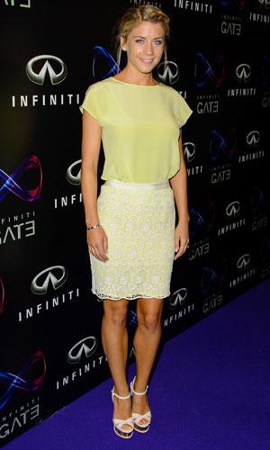 Melanie Slade at Infiniti Gate Experience, London, 11 July 2013