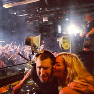 Rita Ora with Calvin Harris in Ibizia