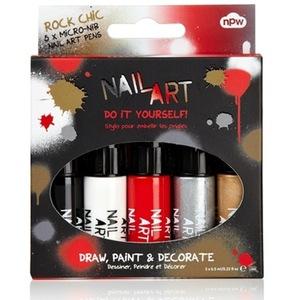 Nail Art Rock Chic Pens Set, £10, Debenhams