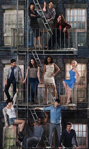 Smash, season two, full cast shot, Thu 18 Jul