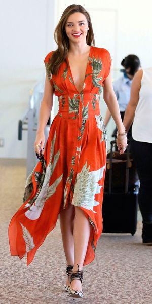 Miranda Kerr at Narita International airport, Chiba pref, Japan - 18 Jul 2013