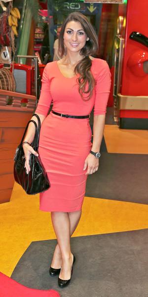 Luisa Zissman attends Hamleys Tickety Toc Launch Party in Regent Street, July 21 2013