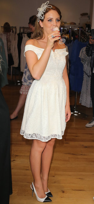 Former TOWIE star Lydia Bright celebrates the launch of pop-up Bella Sorella store within FASHTAG's London base. Bella Sorella is Bright's fashion and lifestyle boutique - 18 July 2013