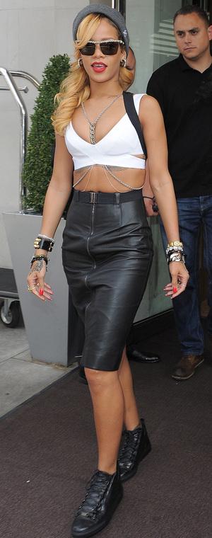 Rihanna in London ahead of Wireless festival 14/07/13