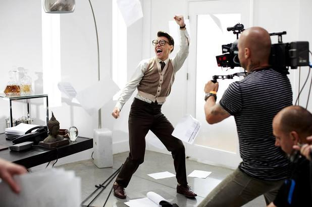 Harry Styles makeover for 'Best Song Ever' video - 18 July 2013
