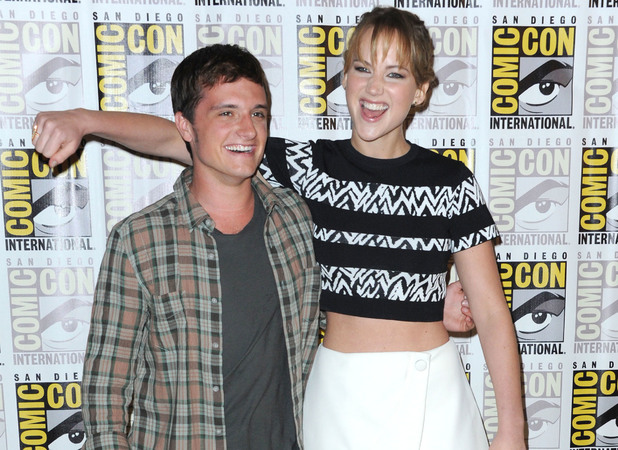 Comic-Con International 2013 - 'The Hunger Games: Catching Fire' - Photo Call with Jennifer Lawrence and Josh Hutcherson, July 21 2013