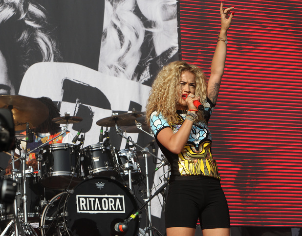 Rita Ora - 13 July 2013 - Yahoo Wireless at Queen Elizabeth Olympic Park in Stratford, East London