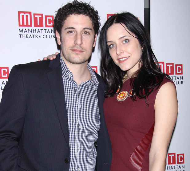 The opening night after party for the Manhattan Theatre Club production of 'Golden Age' held at Beacon restaurant Person In Image:Jason Biggs, Jenny Mollen