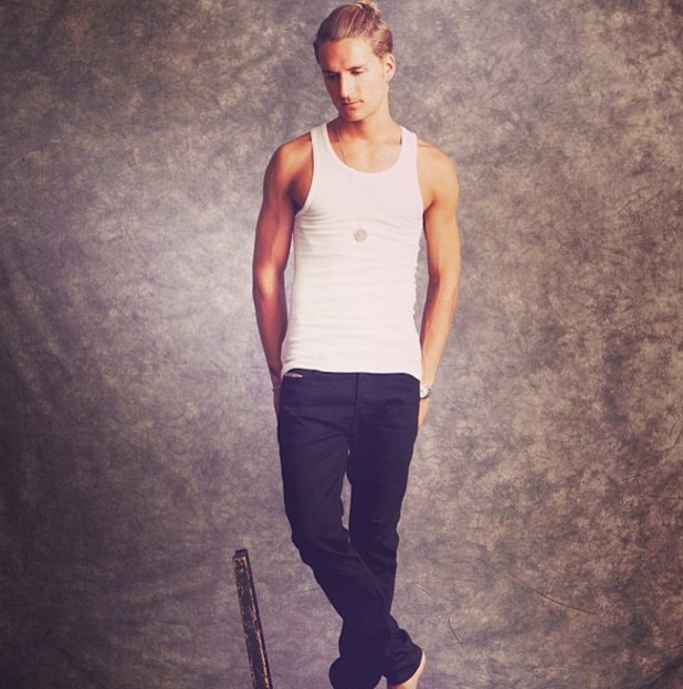 Oliver Proudlock poses for smart photo shoot - July 15 2013
