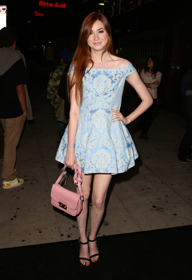 Karen Gillan at the El Rey Theatre in Los Angeles, June 2013