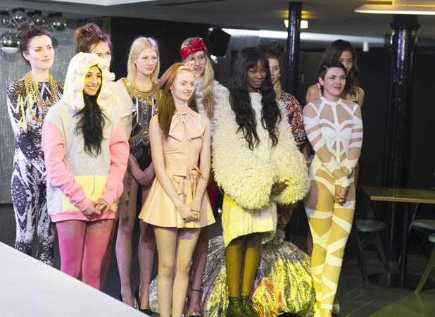 Britain & Ireland's Next Top Model contestants - 2013