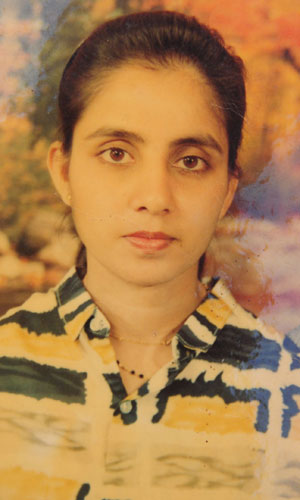 A picture of Jacintha Saldanha from her family album at her home in Shirva, India 2012