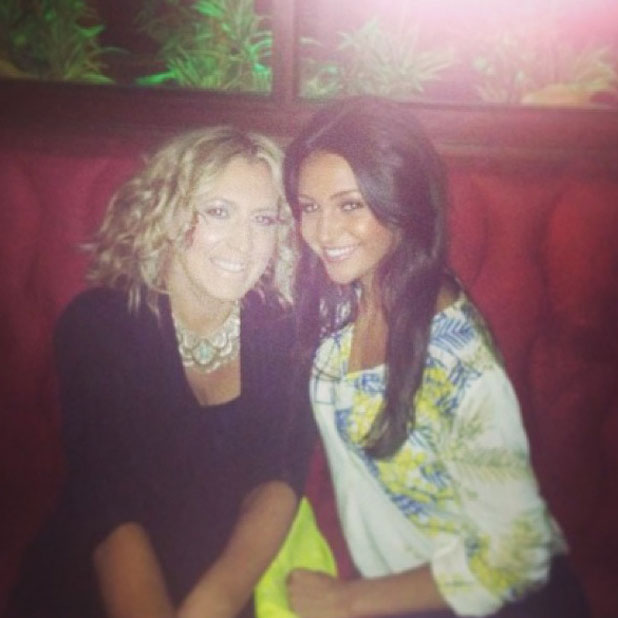 Michelle Keegan on a night out in Dublin, 13 July 2013