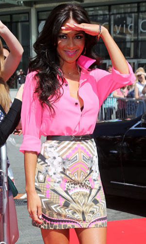 Nicole Scherzinger, The X Factor auditions held at Wembley arena - London, 15 July 2013