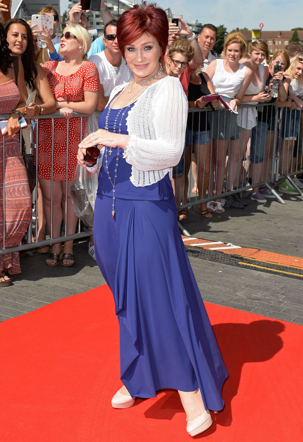 Sharon Osbourne, The X Factor auditions held at Wembley arena - London, 15 July 2013