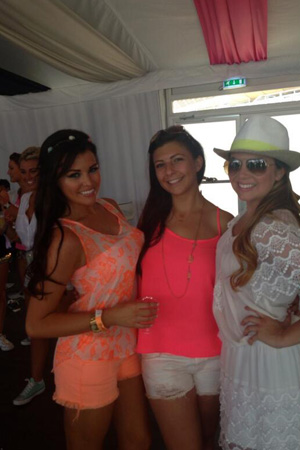 TOWIE's Jessica Wright at the Wireless festival, London - Saturday 14 July