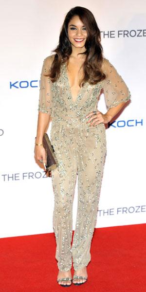 Vanessa Hudgens attends Frozen Ground premiere in London 17/07/13
