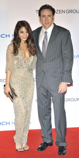 Vanessa Hudgens & Nicholas Cage attend Frozen Ground premiere in London 17/07/13