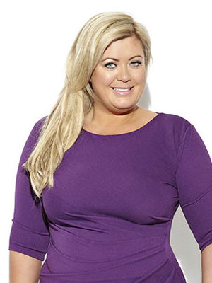 Gemma Collins modelling her new fashion collection